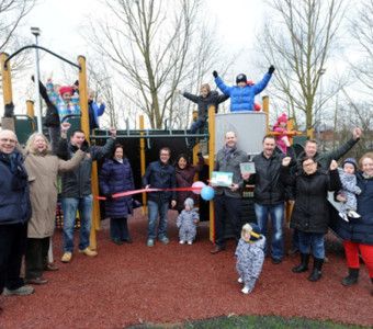 Colchester/Myland: New £80,000 play area is a community effort