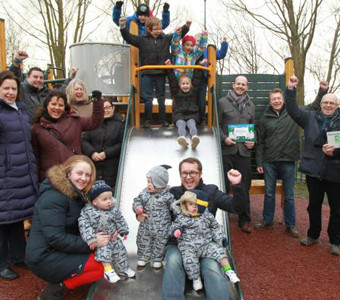 Play area given £80k overhaul