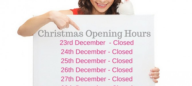 The Dental Studio Christmas Opening Hours